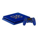 Sony Playstation 4 Slim 1tb Days Of Play Limited Edition Azul