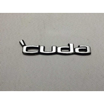 Plymouth Barracuda Cuda 70 71 72 73 74 Emblema Cajuela