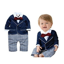 Stylesilove Chic Baby Boy Ropa Formal Mameluco Onesie