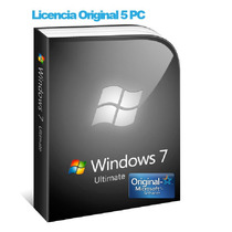 Windows 7 Ultimate Licencia Original 5 Pc 32/64 Bit