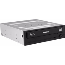 Grabador De Dvd - Dvdrw 24x Sata Interno Samsung Negro