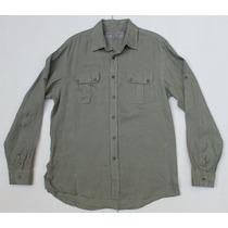 Camisa Michael Kors Mediana, 100% Lino, Original, Barata