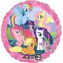 Globo My Little Pony Paq 6 Pzas Medida 18 Pulgadas Helio