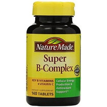 Naturaleza Made Super B Complex Tabletas 140 Count (paquete