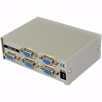Duplicador Divisor Video Vga 4 Puertos Splitter Multiplicado