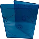 Estuche Blue Ray Doble 5.00mm 100 Pzas