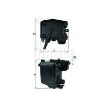 Filtro Gas Peugeot Partner Diesel Mann = Kl431
