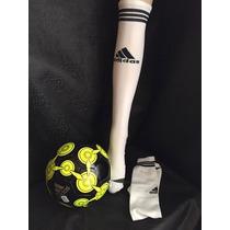 Calceta Fútbol Adidas Blanca
