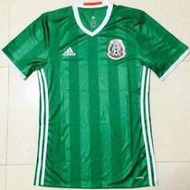 Jersey Playera Mexico 2016 Nueva Adidas Climacool Verde