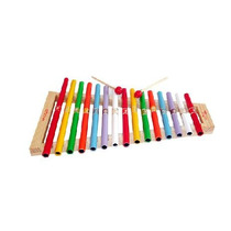 Xilófono Infantil 15 Notas Instrumento Musical 3 Pzas 3+ Dml