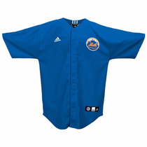 Jersey Juvenil Adidas De Los New York Mets Mlb