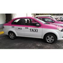 Cromatica O Calcomanía Para Taxi