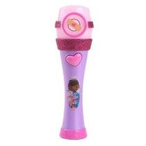 1 X Doctora Juguetes Musicales Light-up Micrófono Por Disney