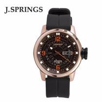 Reloj Seiko Automatico J Springs Acero Caucho Buceo