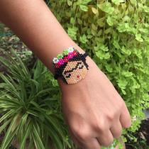 b81599f637c8 Pulsera Frida Kahlo Chaquira Accesorios Huichol Moda Miyuki en venta ...