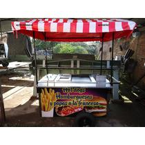 Carro Hot Dogs Carros Hot Dog Carreta Puesto Hotdogs Acero