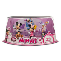 Play Set (figurines) De Minnie Mouse Ideal Para Adornar Past