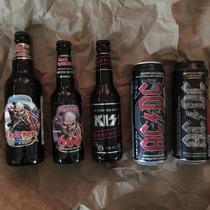 Colección De Cervezas De Rock2; Iron Maiden, Acdc, Kiss