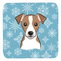 Conjunto De 4 Copo De Nieve De Jack Russell Terrier De Espum