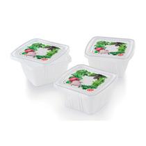 Jgo 3 Contenedores Vegetales 0.25 L Decorados Verduras Prinz