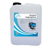 Alcohol Isopropílico 99.8% Puro 5 Litros Quimiklean