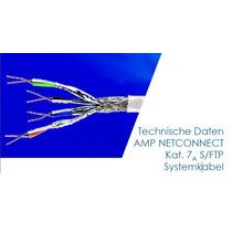 Cat 7a Cable Utp 1499102-2 Te Connectivity 1000mt