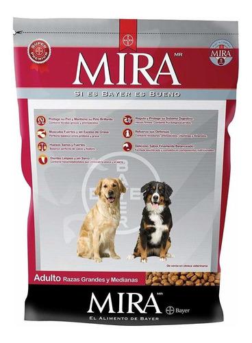 Alimento Mira Perro Adulto Raza Mediana/grande Mix 20kg