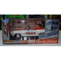 1:24 Chevrolet Camaro Ss 1969 Indy 500 Pace Car Greenlight