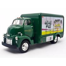 1:34 Camion De Carga Gmc 1952 Cerveceria Con Diablito Escala