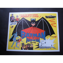 Batman Y Robin Adam West Lobby Card Cartel Poster G