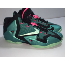 Nike Zoom Lebron Xi Premium South Beach 9 Mex 11 Us 100% Gen