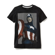 Playera Capitan America Marvel- Old Navy Para Niño