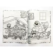 Libro Para Colorear Jóvenes Titanes Teen Titans Go T Carta En Venta