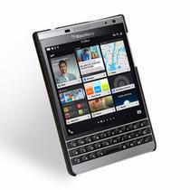 Funda Tetded Blackberry Passport Silver (mod. Caen) Negro