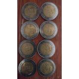 Monedas De 5 Pesos Conmemorativas Revolución E Independencia