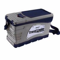 Refrigerador Camping Enfria Calienta 49 Lts 12v Auto Nevera