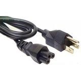 Cable De Corriente Trifasico Para Laptop (trebol) *garantia