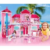 Barbie Mansion De Malibú Casa De Barbie Malibu House C/envio