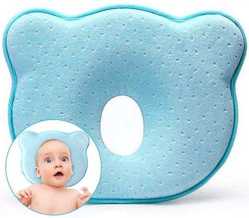 Almohada Para Bebe Memory Foam Para Prevenir Cabeza Plana