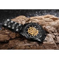 ce215cd8219e Reloj Winner Skeleton Automático Calavera Hombre Skull T5 en venta ...