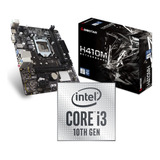 Kit De Actualización Intel Core I3 10 Gen, Mother H410, 8 Gb