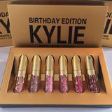 Set Kylie Jenner Birthday Edition 6 Labial Mini Envio Gratis