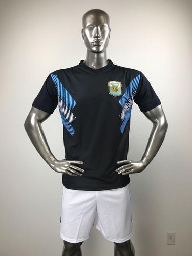 f50ebd3ba0 Argentina Visit Uniforme Futbol Jersey Playera Personalizada.   285