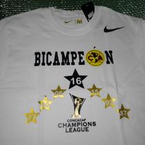 Playera Bicampeon Club America 2016 / Concacaf