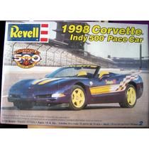 Corvette 98 Indy 500 Pace Car Revell Escala 1/25 Nuevo