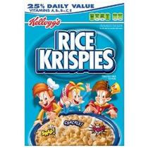 Rice Krispies De Cereales Cajas De 12 Onzas (paquete De 4)