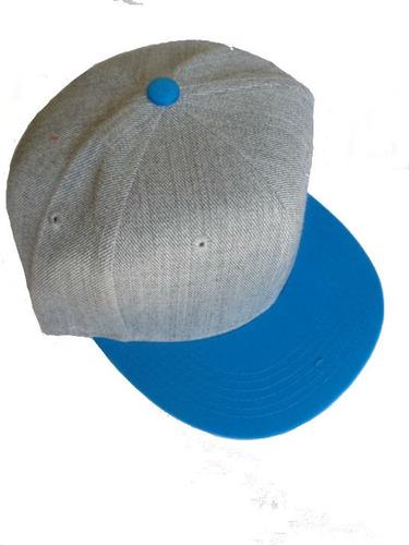 Gorra Snapback Visera Plana Lisa Skate Rap Hip Hop  55 br81A ... 87c43aac59f