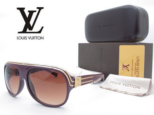 5e742e1e18 Lentes De Sol Louis Vuitton Millionarie Purple