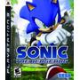 Zero Games Envío Gratis Ps3 Sonic The Hedgehog Df Mpago