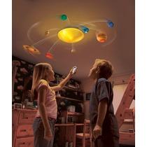 Lampara Con Sistema Solar Giratorio Led Uncle Milton Science